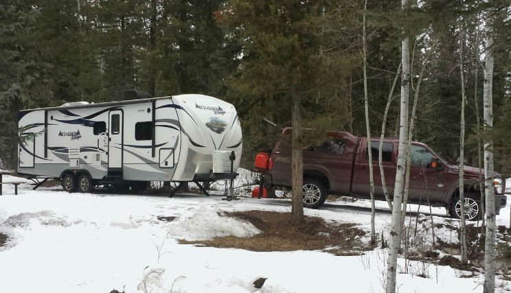 Park Your RV in Cold