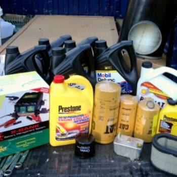 annual RV maintenance jobs