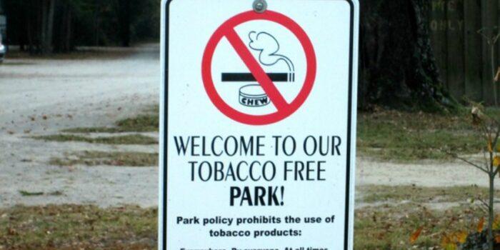 campground smoking