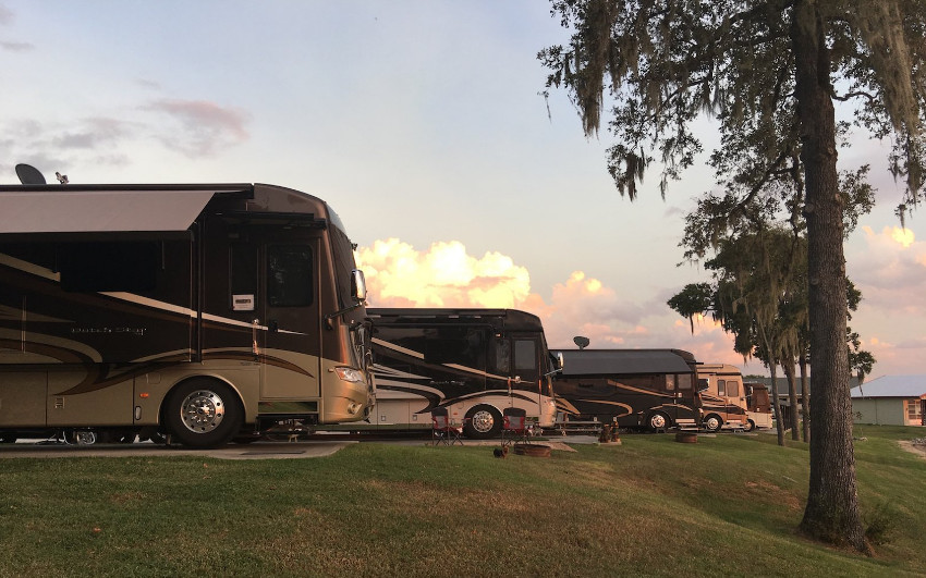 RV touring with groups