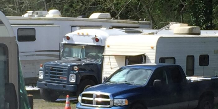 West Coast RV parking shortage