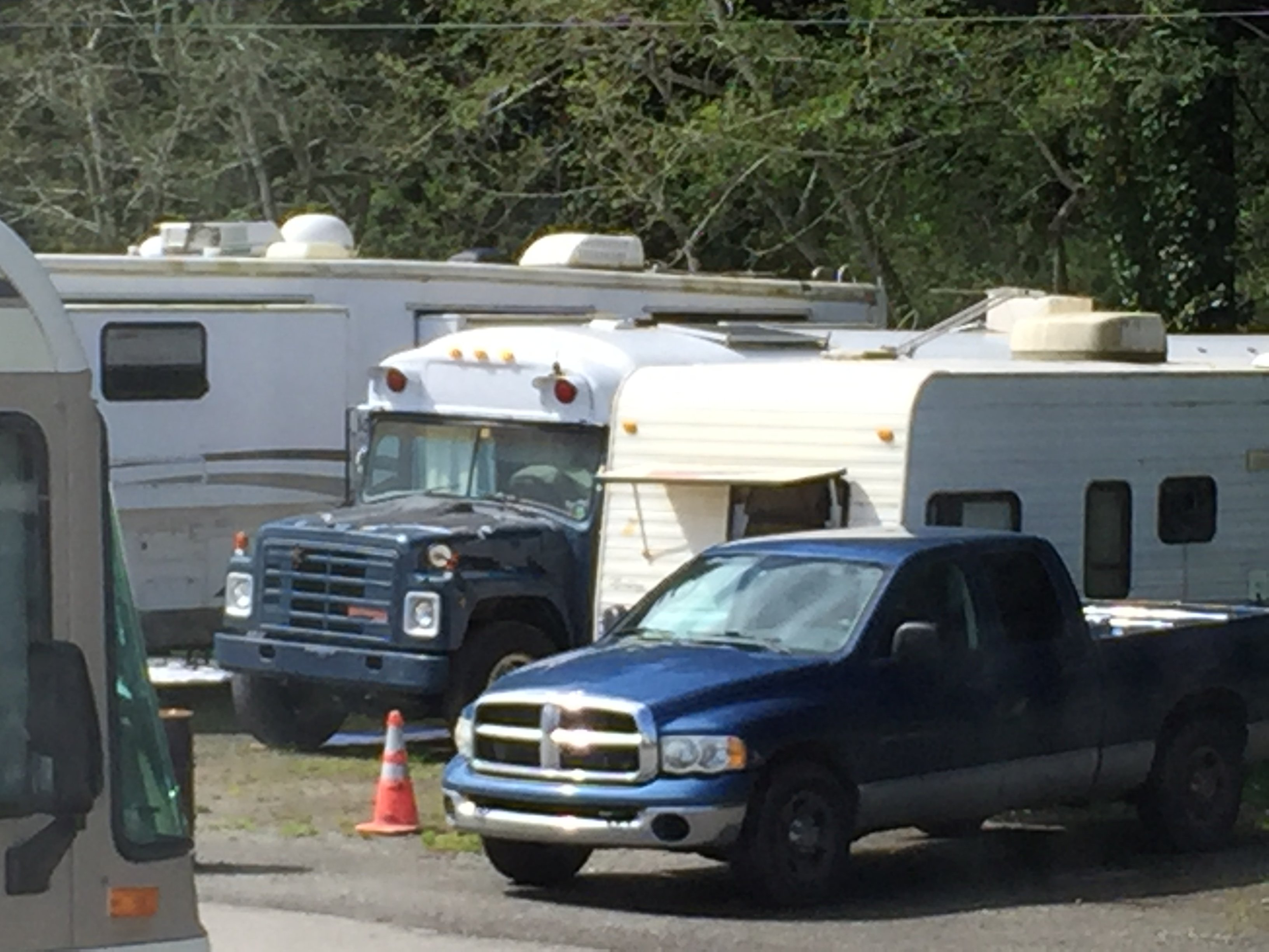 West Coast RV parking shortage