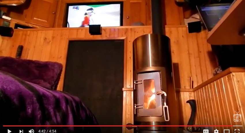 wood stove for RVs