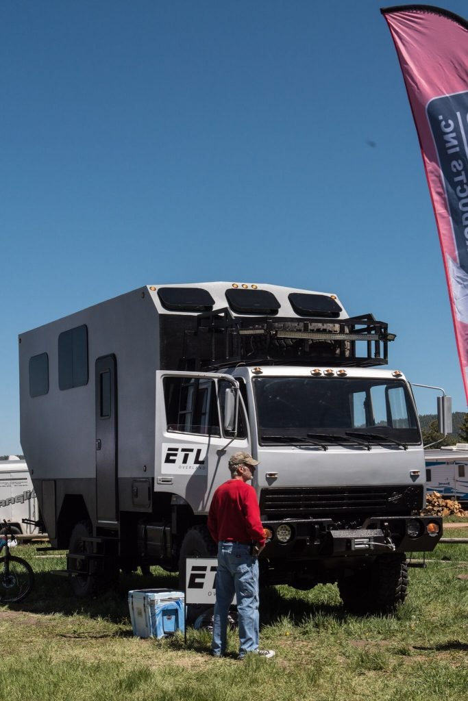 overland camping and RVing