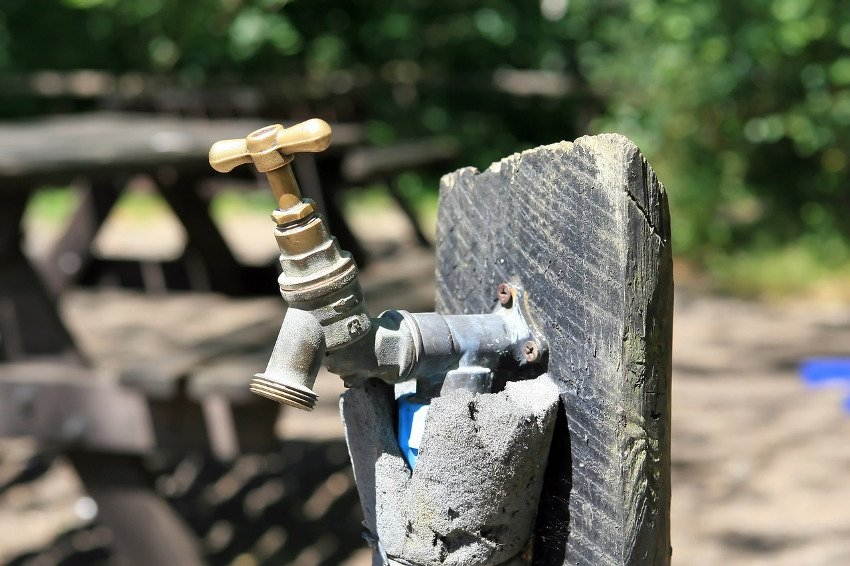 contaminated campground water