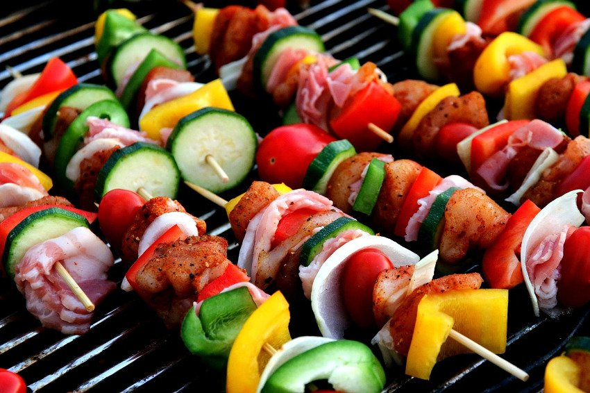 summer RV cooking
