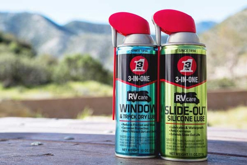 Spray Away Those Noisy RV Slide Out & Window Squeaks - RV Life