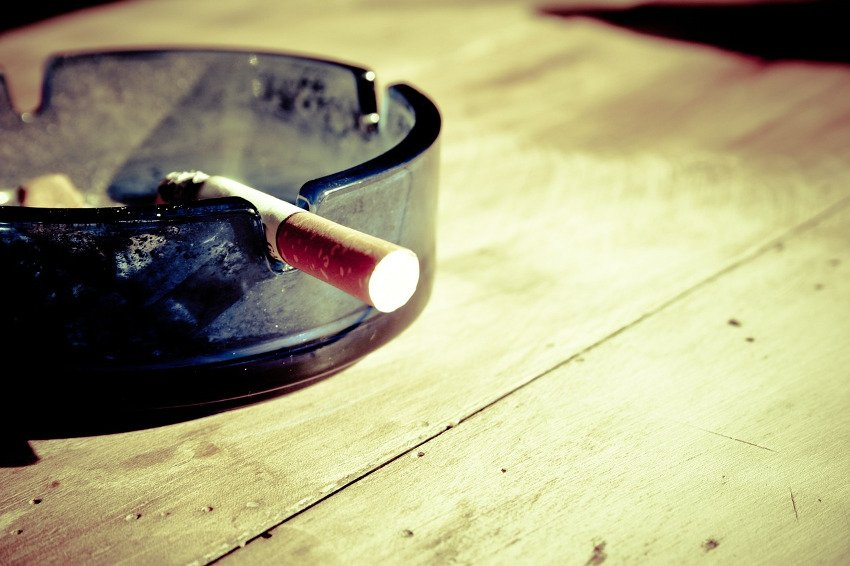 campground smoking ban