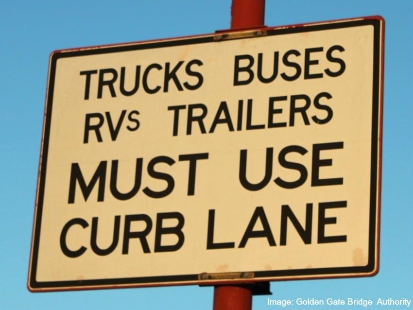 RV through highway toll