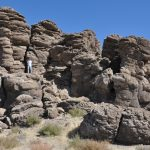 You Can Find Hidden Tufas Off This Nevada Highway