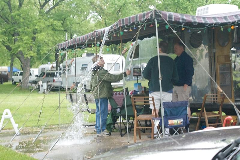 How To Prevent Rv Awning Damage From The Wind And Rain