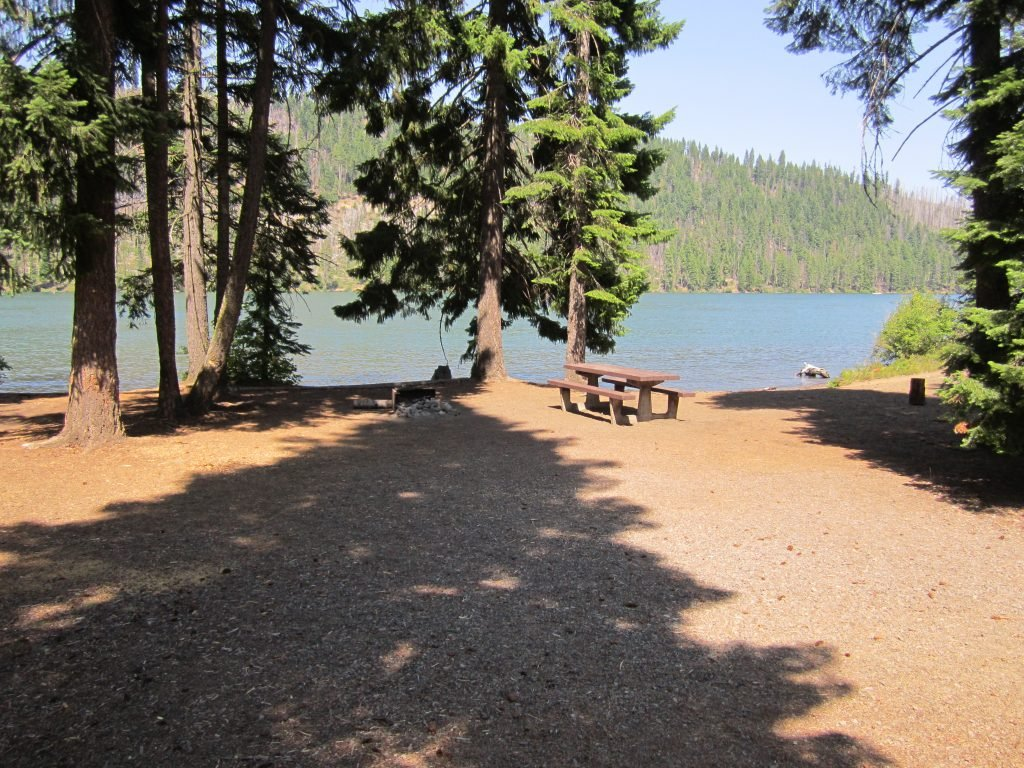 forest campgrounds