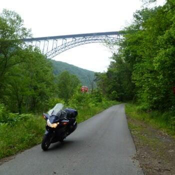 Riding in West Virginia