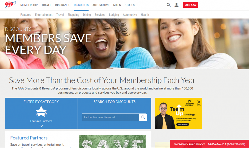 d804d2344b AAA Discounts And Rewards For Members And RVers