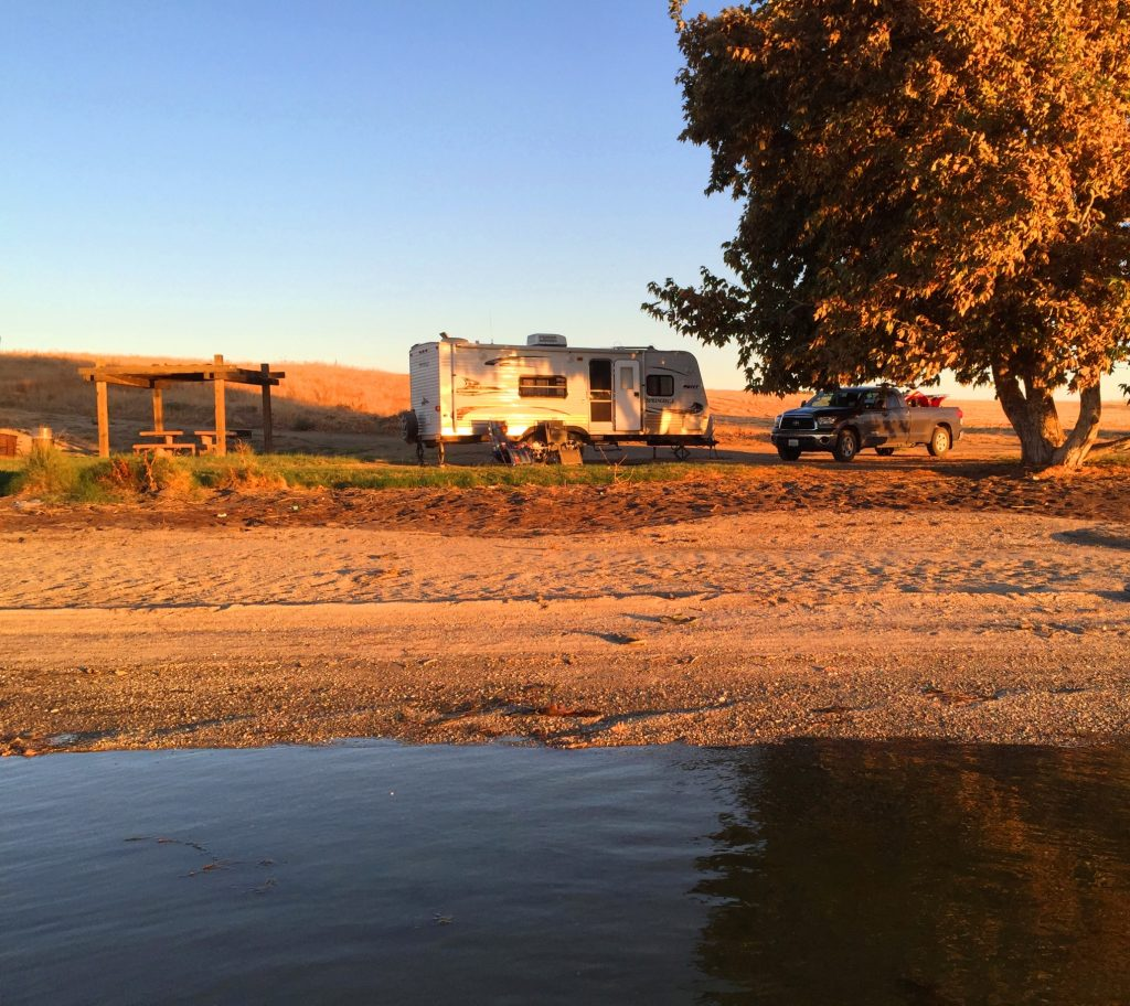 waterfront campground