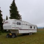 Why You Shouldn't Store Your RV In The Forest