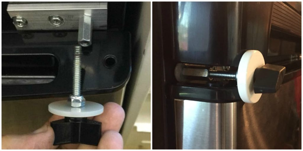 Residential RV refrigerator