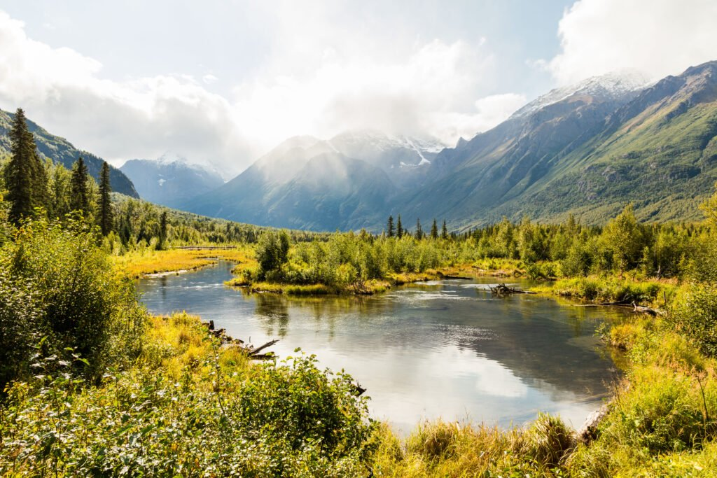 Best Sights And Rv Campgrounds In Chugach State Park Alaska