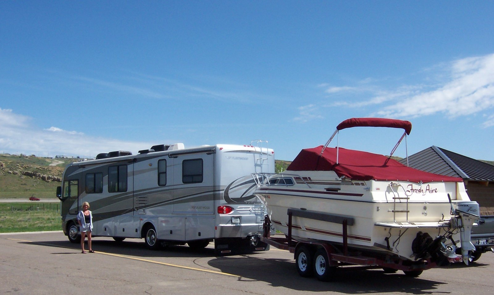 Rving With A Boat Tips For Towing A Boat With An Rv