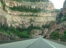 Take A Scenic Drive Through Glenwood Canyon, Colorado