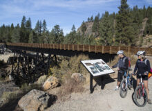 Go RVing Near Great Bike and Walking Trails in the West