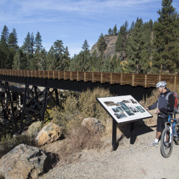 RVing near great bike and walking trails in the west