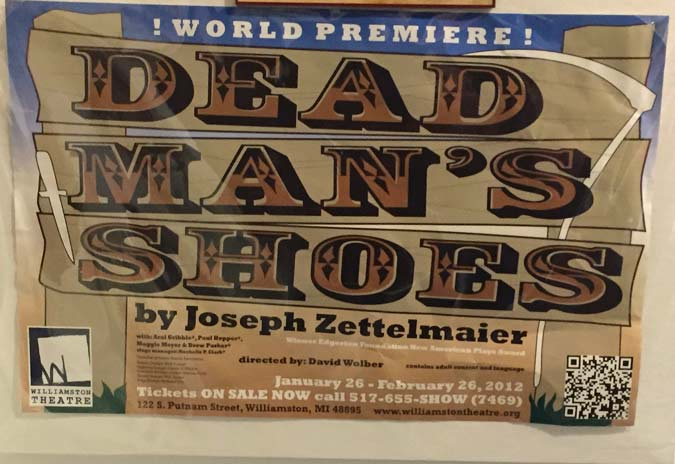 Dead Man's Shoes Rawlins Wyoming