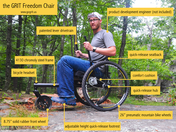 GRIT Freedom Chair