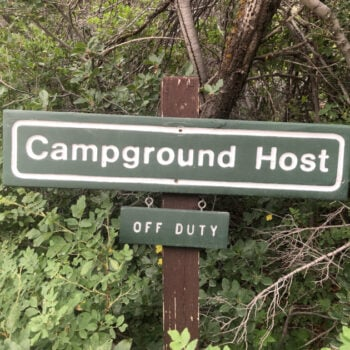How to get a national park camp host job