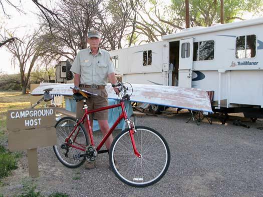 Dave Big Bend Camp Host
