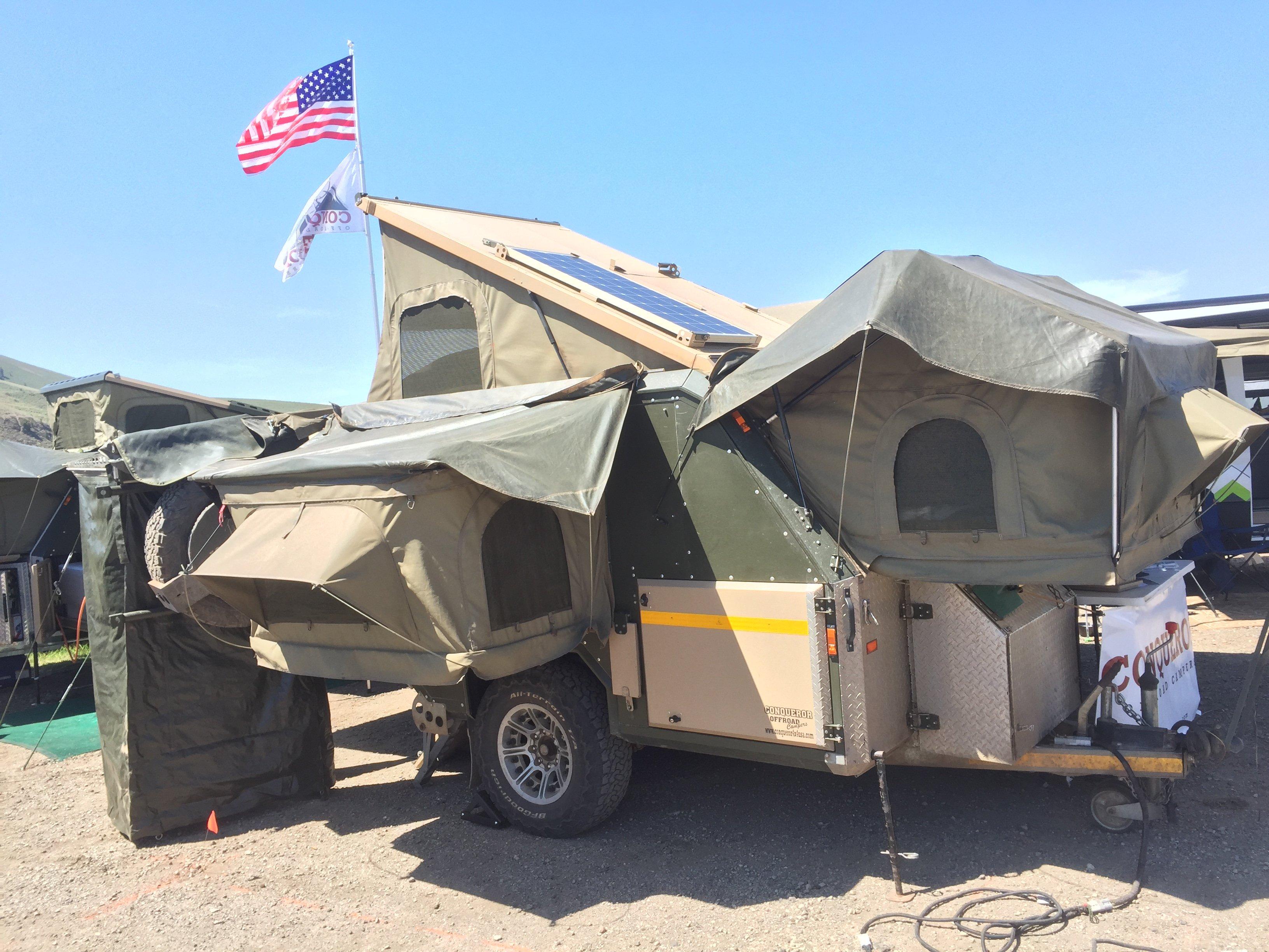 overlanding tent trailer