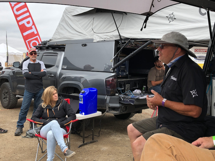 Mario Donovan AT Overland camper planning