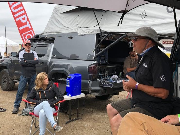Mario Donovan AT Overland camper planning