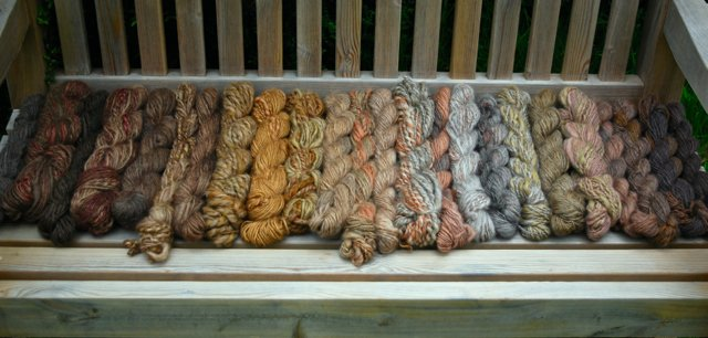 Yarn by Solo Full-time RVing Artist Weaver Eloise