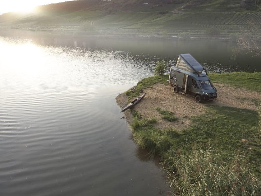 VisionVenture concept camping