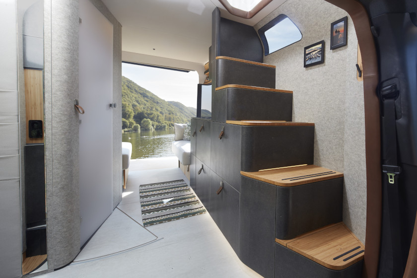 Staircase VisionVenture #VanLife Concept RV