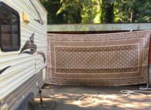 An Easy Way To Clean Your Patio Mat