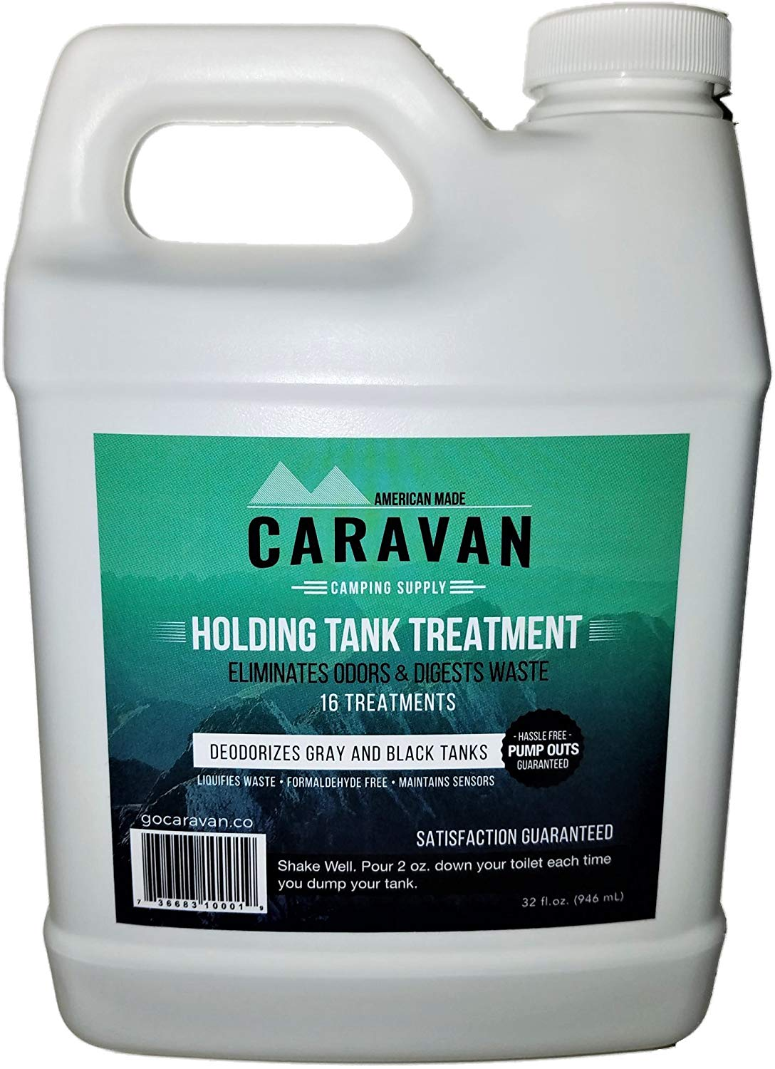microbes holding tank treatment