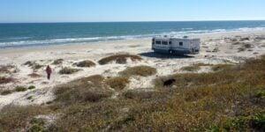 Texas beach camping murders