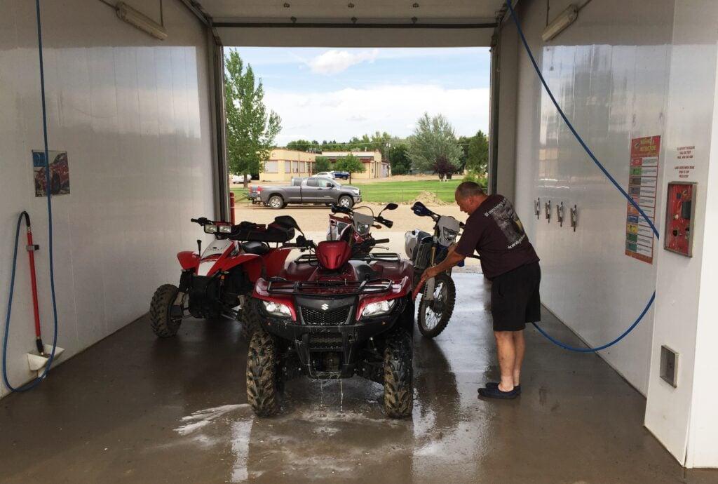 Rv Friendly Car Wash And Dump Station Near Glasgow Montana