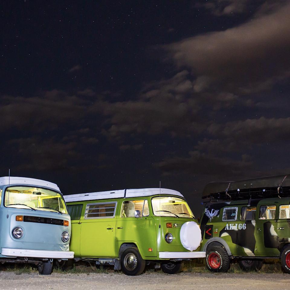 volkswagen camper van rental