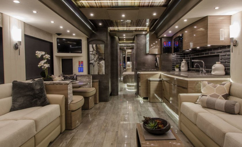 Newell luxury RV