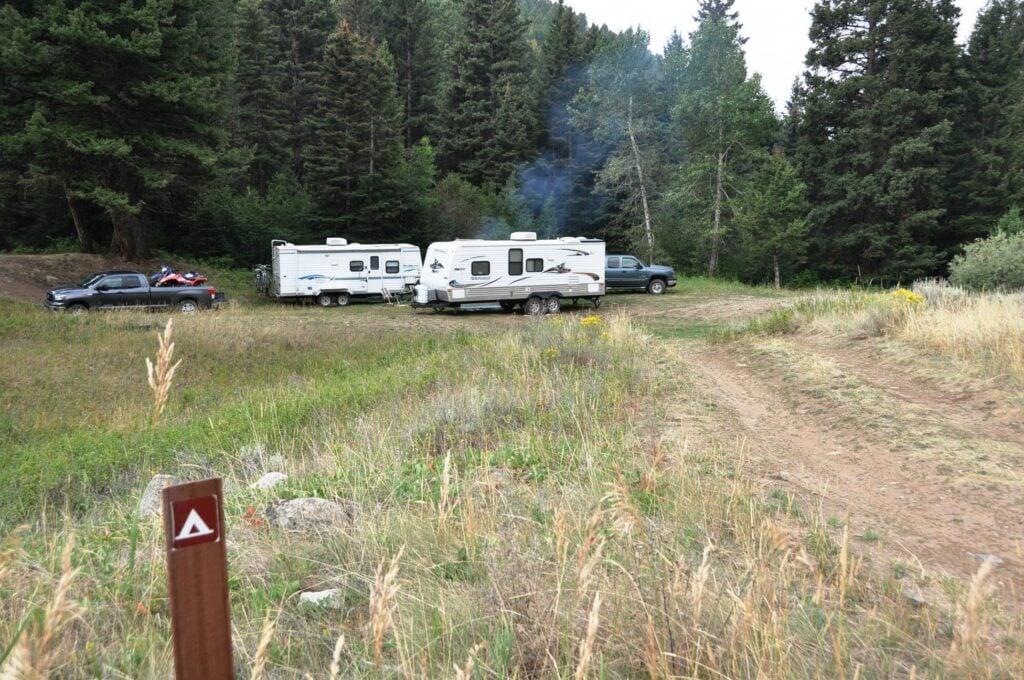 dry camper