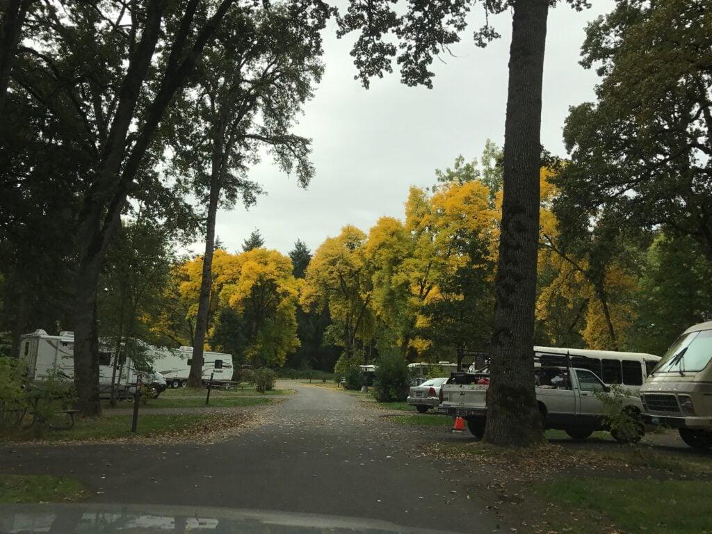 RV park roadway