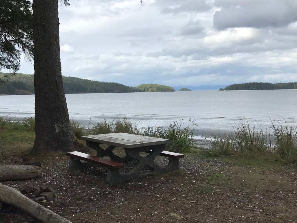 Canadian Provincial Park picnic table