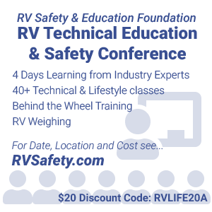 RV Technical Education & Safety Conference Discount Coupon