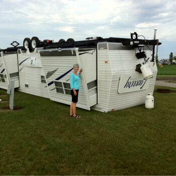 RVing in high winds