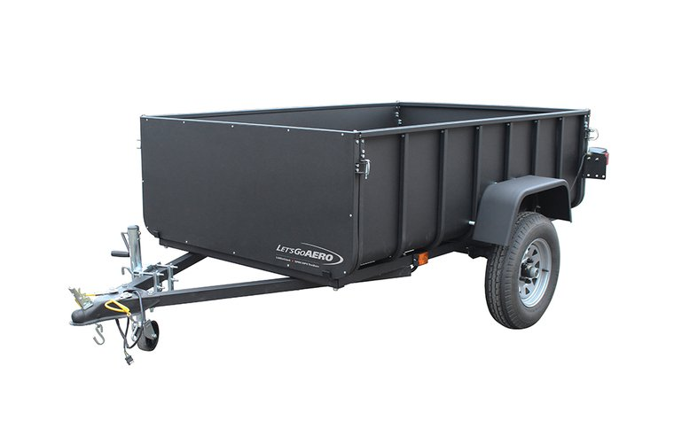 lightweight truck bed camping trailer