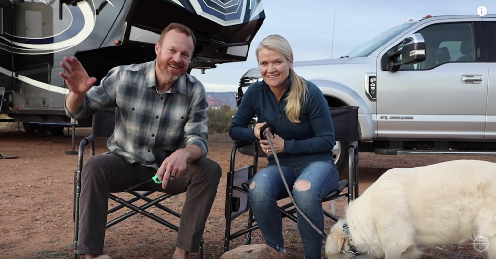 Marc and Tricia Leach's YouTube channel 'Keep Your Daydream' dispenses vast amounts of great advice and tips for new RV owners.