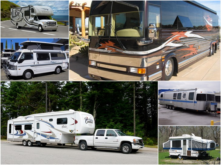 There are several RV types for the new RV Owner to choose from